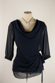 Studio Anneloes voile blouse drie kwart mouw | filly fashion
