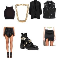 A fashion look from August 2014 featuring River Island, motorcycle vest and blazer jacket. Browse and shop related looks.