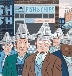 (Untitled) Fish and Chips / by Gregory Gallant Character Illustration, Illustration Art, Its Nice That, Illustrators, Life Is Good, Pop Art, Novels, Character Design, Artsy