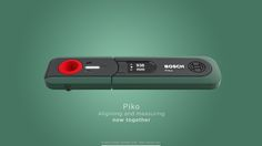 Piko - Aligning and measuring tool for Bosch on Behance