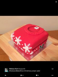 Christmas jumper cake! Great idea