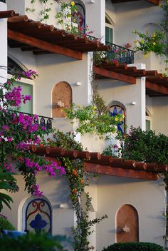 Many of the exteriors of the rooms at Zoëtry Villa Rolandi feature stained glass accents.