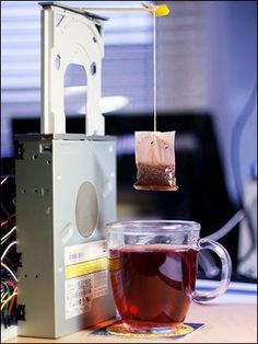CDTea, una máquina de hacer té construida con Raspberry Pi - Ubuntizando.com