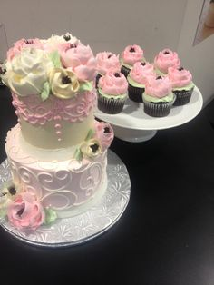 The White Flower Cake Shoppe Buttercream Flowers, Buttercream Cake, White Flower Cake Shoppe, Cake Photos, Bakery Cakes, Round Cakes, Cake Decorations, Cake Creations, Cakes And More