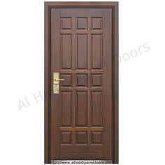 Teak wood doors main door designs pinterest wood for 8 panel solid wood doors