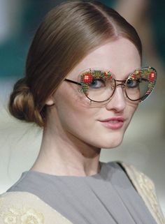 Love, love this beaded glasses!