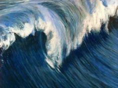 "Saatchi Art Artist Stephen Finkin; Drawing, ""Wave Series 9"" #art"