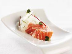 Trucha del Fiordo de Noruega dulce-salada con ensalada de hinojo