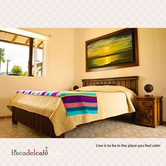 """""""The name of the rooms are inspired by the pictures inside of, this is """"Amanecer"""". To know more about our rural hotel go to www.fincadelcafe.com #Travel #Tourism #Coffee #Colombia #CoffeeTriangle #CoffeeCulturalLandscape #PaisajeCulturalCafetero #SantaRosaDeCabal #Wanderlust #CoffeeCulture #NexStop #Planning #Luxury #LifeStyle #Traveler #LuxuryLifeStyle #FirstClass #CoffeeTime #Caffeine #InstaCoffee #CoffeeOfTheDay #TravelGram #TravelInGram #Travelling #InstaPassport #InstaTravel…"""