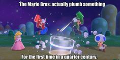 The biggest advancement in Super Mario 3D World fun via Reddit user zippy64