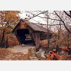 This is a wonderful looking covered bridge but not the one seen in the movie: Bridges Of Madison County.