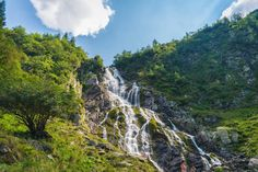 Cascada Bâlea - Munții Făgăraș  Bâlea waterfall - Făgăraș Mountains - România Romania, Bali, Beautiful Places, River, Mountains, Nature, Waterfalls, Outdoor, Outdoors