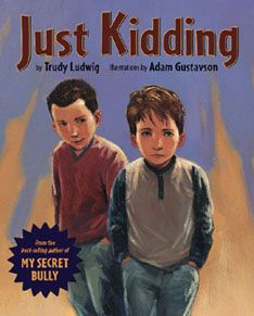 """""""Just Kidding"""" is another Trudy Ludwig book! I used Just Kidding -- about the difference between """"kidding""""and being mean on purpose. This is a great book to use for boys about bullying. Classroom Behavior, School Classroom, Classroom Management, Behavior Management, Classroom Ideas, Bullying Lessons, Bullying Activities, Counseling Activities, Children Activities"""