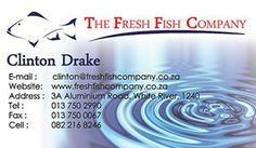 BUSINESS CARD DESIGN -  The Fresh Fish Co.