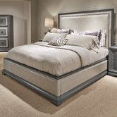 Found it at Wayfair - Tower Suite Upholstered Panel Bed