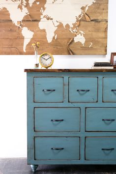 With a unique design and a classic feel, this Kingston dresser is sure to bring just the right mixture of personality and practicality to any room.