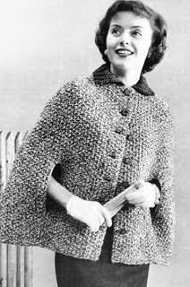 Resultado de imagem para receita de poncho de trico facil