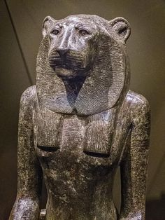 Lion-headed Horus of Buto, son of Wadjet, half brother to the falcon-headed Horus the Sky God - Изображение The Nelson-Atkins Museum of Art, Канзас-Сити - Tripadvisor Ancient Egypt Art, Ancient History, Monuments, Statues, Half Brother, Prehistory, Egyptian Art, Deities, Archaeology