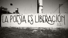 La poesía es liberación #Acción Poética Tucumán #calle