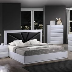 Global Furniture USA Bailey Bed | ATG Stores