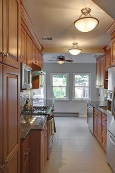 small galley kitchen makeovers | kitchen cabinetry remodeling