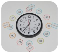 Free Clock labels