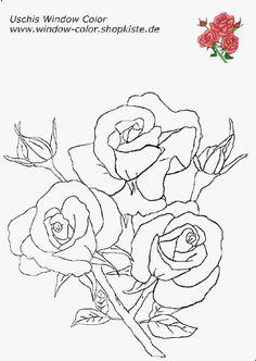 Blumen-Vorlagen 3