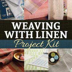 Weaving Projects in Linen Yarn Resource Kit | InterweaveStore.com