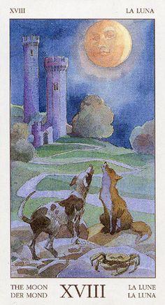 Tarot of the Renaissance ► The Moon