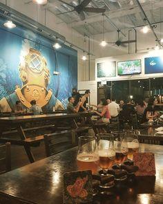 Pretty Cool Location #beer #craftbeer #hops #hoppybeer #westcoast #craft #ballastpoint #taproom #sandiegobeer #ipa #evenkeel #californiacraftbeer #brewery #hoppy #yummybeer #tastesgood #goodbeer #mural #instamural #wallart #beerflight #flight #sandiego #sandiegoconnection #sdlocals #sandiegolocals - posted by Melissa Harris https://www.instagram.com/muzical_joy. See more San Diego Beer at http://sdconnection.com
