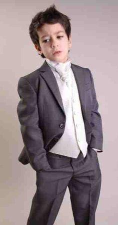 page boy attire-