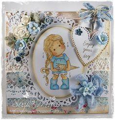 Sugar n Spice: Midweek Magnolias Dt #48 BLUE