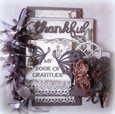 My Book of Gratitude Mini Album - Scrapbook.com