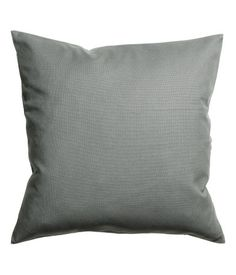 Cushion cover in cotton canvas with concealed zip. Size 20 x 20 in.