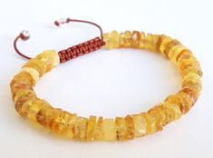 Earrings Genuine Amber Bracelet/anklet Child-adult Knotted Beads Sizes 13-25 Cm Fashion Jewelry