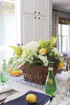 Summer floral arrang
