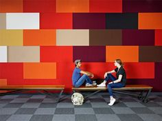 wall design 395 Page Mill Road by Studio O+A