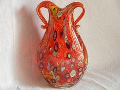Vintage Mid Century Murano Glass Millefiore by AustinMetroRetro