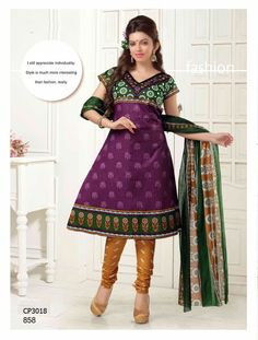 Latest Fashionable simple salwar kameez Wholesaler,Supplier,Exporter,Stockist and Manufacturer,Bollywood Celebrity Replica Anarkali Suit Dress materials,Readymade Designer Punjabi Wedding collection,Casual Printed Long Cotton exclusive party wear,best price sale tradditional indian womens clothes Churidar Suits, Anarkali Suits, Salwar Kameez, Suit Fabric, Bollywood Celebrities, Cotton Style, Cotton Dresses, Party Wear, Designer Dresses