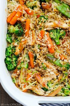 If you are looking for an incredible, delicious and healthy meal to feed your family, look no further. This Teriyaki Chicken Casserole is one you'll love and even the kiddos too. I think casseroles get a bad rap, and I can totally see why. Especially when they're packed with a bunch of processed ingredients and... Read More »