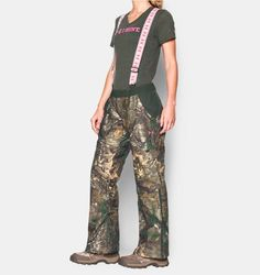 Shop Under Armour for Women's UA Scent Control ColdGear® Infrared Gunpowder Pants in our Womens Bottoms…