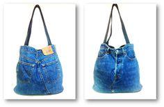 Bag Lady: DIY Jeans Tote