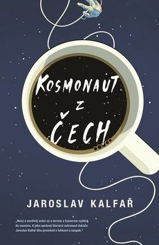space and coffee book cover, spaceman of bohemia by jaroslav kalfar Best Book Covers, Beautiful Book Covers, Book Cover Art, Book Cover Design, Book Art, Cool Books, New Books, Buch Design, Up Book