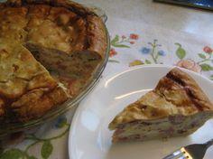 Italian Easter Pie Pizza Rustica Aka Ham Pie) Recipe - Food.com: Food.com