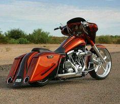harley-davidson street glide used motorcycles Custom Baggers, Custom Harleys, Custom Motorcycles, Custom Bikes, Custom Cycles, Concept Motorcycles, Harley Bagger, Bagger Motorcycle, Harley Bikes