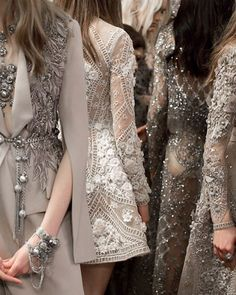 WEBSTA @ eliesaabworld - A labyrinth of details #CoutureMagic #EnterIndia