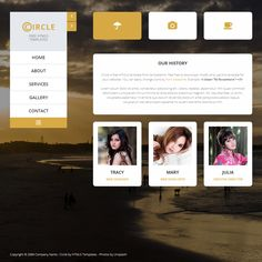 Easy profile is one-page Bootstrap v3.3.5 layout. Fade in-out ...