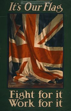 This is a British propaganda poster from WW1. Britain wants its citizens to join the war and enlist.