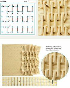 Fabric Manipulation Techniques, Textiles Techniques, Sewing Techniques, Fabric Manipulation Tutorial, Smocking Tutorial, Smocking Patterns, Sewing Patterns, Fabric Crafts, Sewing Crafts