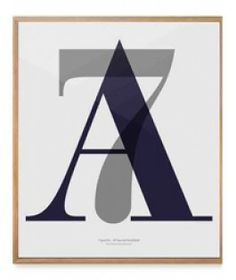 Playtype Poster A7  - 59,5 x 70 cm